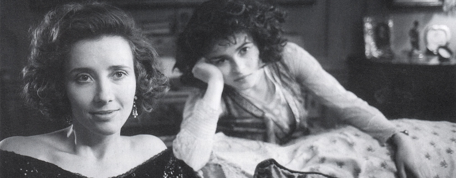 Emma Thompson and Helena Bonham Carter, Howards End, - 1992